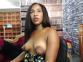 Sherezade's colossal puffy lactating nipples
