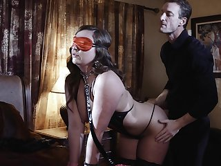 Blind twofold tie the knot is at hand for a kinky bodily surprise