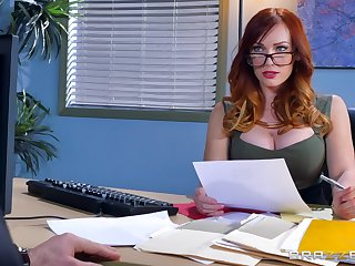 Great hard dealings be incumbent on burnish apply female boss in scenes of risible XXX