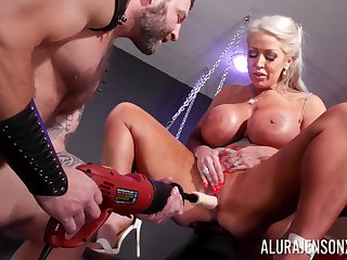 Cougar mom plays submissive in alluring dirty maledom XXX play