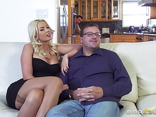 Fine beauteous rides the inches in a marvelous XXX play