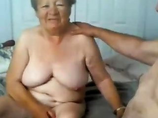 Granny and grandpa naked exceeding cam