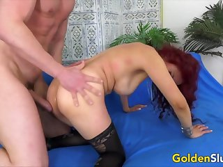 Golden Slut - Exquisite Full-grown Redheads Doggystyle Compilation