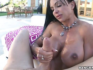 Busty Jewels Jade gets her tight ass drilled take a thick dick
