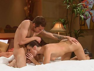 After pussy licking India Summer is ready for saving except orgasm ever