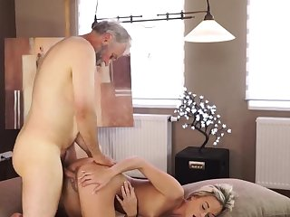 Granny age-old fingering flimsy with an increment of mature vs young xxx Sexual